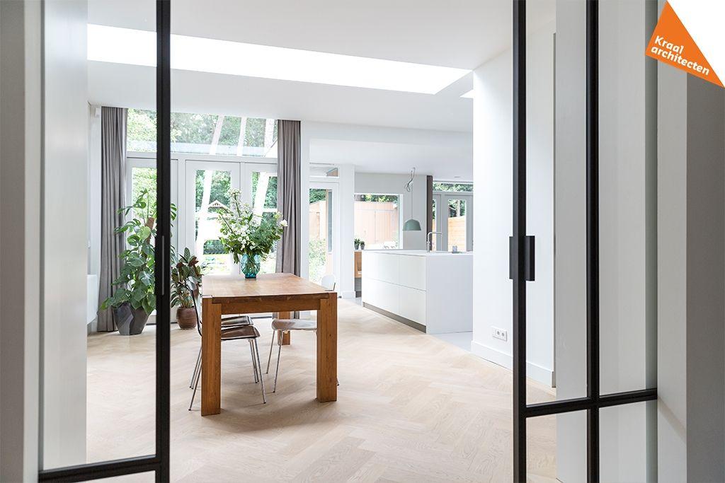 Eigentijdse Renovatie Uitbreiding Home New Homes Interior