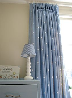 Kids Polka Dot Curtains White or blue polka dot curtain panel made to order custom 52w polka dot curtains in pink for emilys room sisterspd