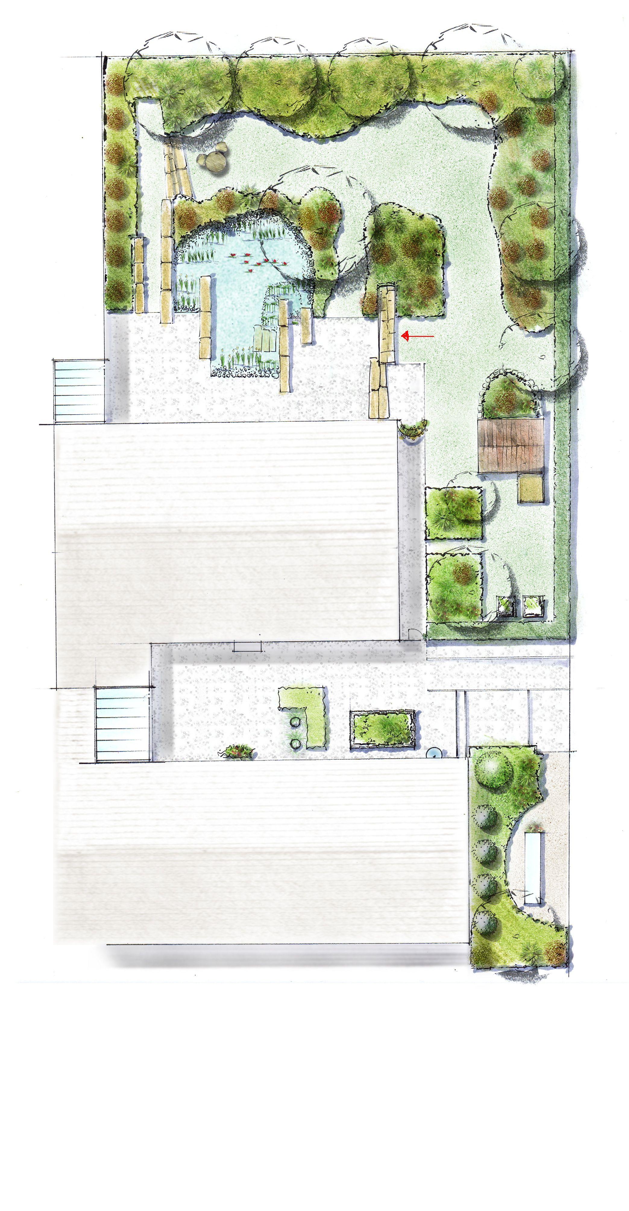 Gartenplan  Gartenplan | BRIGITTE PEGLOW, mein Garten, meine Keramik ...