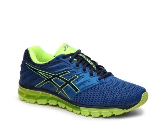Men S Men Gel Quantum 180 2 Performance Running Shoe Blue Green