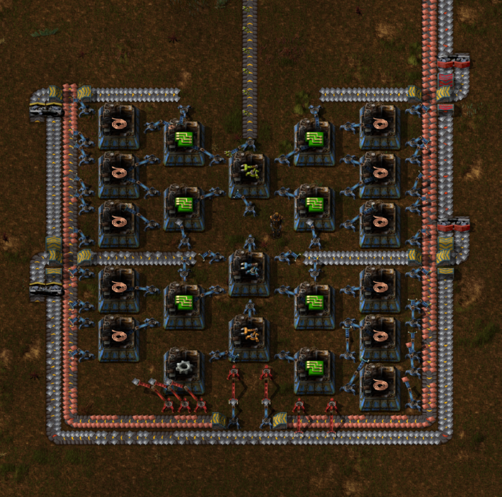 Full Speed Smart Inserter Production Smart Blueprints Real Time Strategy