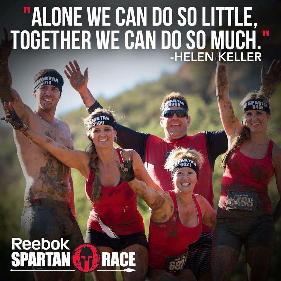 SR quote Race quotes, Reebok spartan race, Spartan race