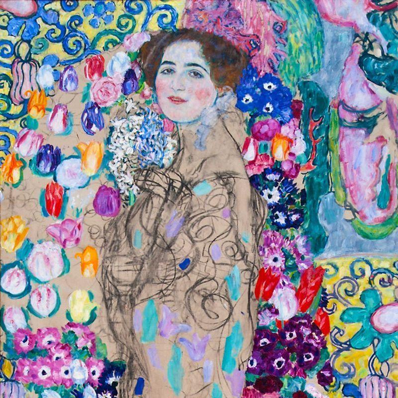 Portrait of a woman. Klimt art, Gustav klimt art, Art