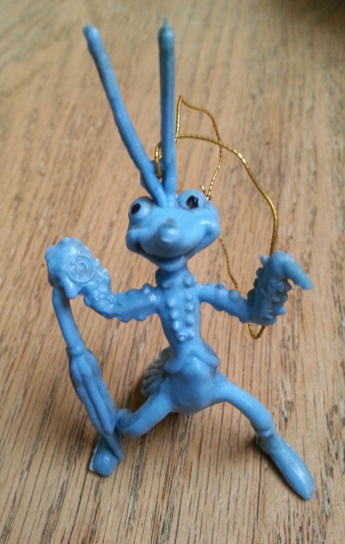 Latex grasshopper pet toy
