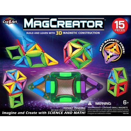 Cra-Z-Art MagCreator 15-Piece Magnetic Set