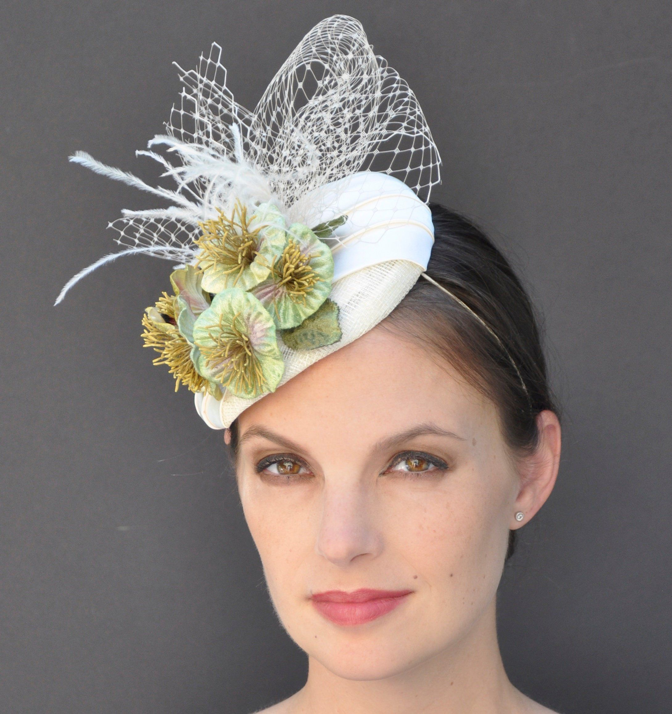 limited guantity classic best loved Wedding Hat, Formal Hat, Fascinator Hat, Dressy Hat, Pillbox ...