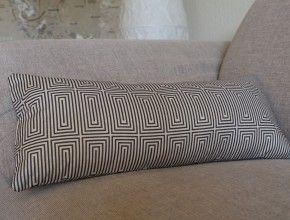 nackenrolle in neuem bezug mit hotelverschluss diy made by me pinterest stricken h keln. Black Bedroom Furniture Sets. Home Design Ideas