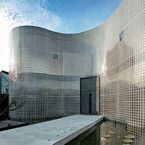 Pr sentation brique de verre pav de verre architecture - Montage brique de verre exterieur ...