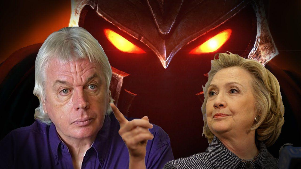 David Icke Calls Hillary Pure Evil Talks Ron Paul Hif Interview
