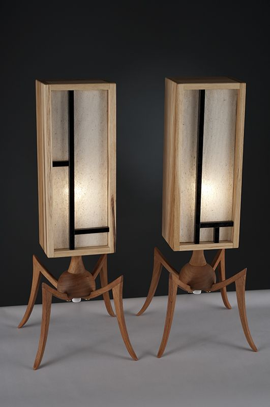 """Sentries 1"" wonderful creative lighting by artist Josh McVety  ...see more lighting and other great work ...   http://www.mcvetydesign.com/"