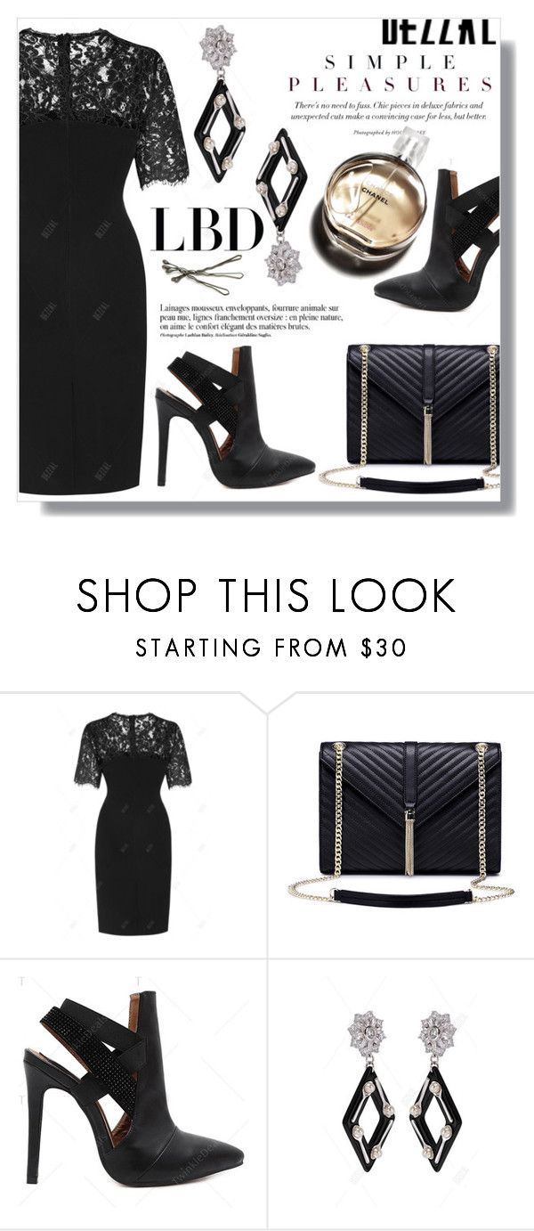 """""""LBD #dezzal"""" by fashion-pol ❤ liked on Polyvore featuring POL, Anja, BOBBY and Chanel"""