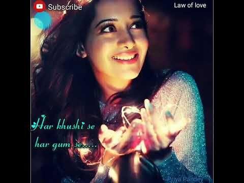WhatsApp video status_ love song_ female version_ Pyaar ...