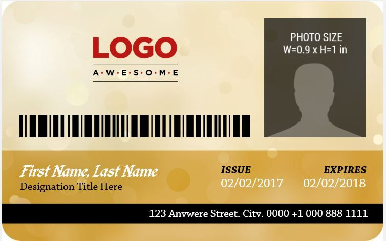 Employee Photo Id Badges Template 15 Free Docs Xlsx Pdf Badge Template Id Card Template Employee Id Card