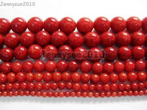 DIY Natural Coral Gemstone Spacer Spacer Loose Beads 15/'/' for Jewelry Making