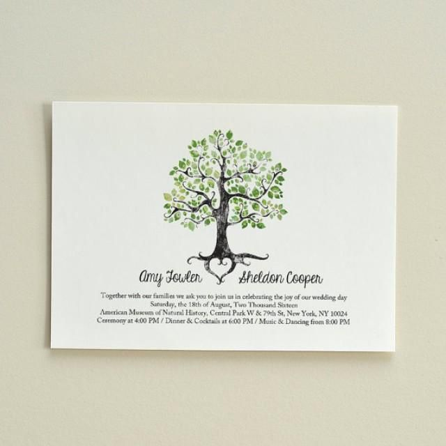 Weddbook is a content discovery engine mostly specialized on wedding the summer solstice tree wedding invitation diy printable pdf template stopboris Images