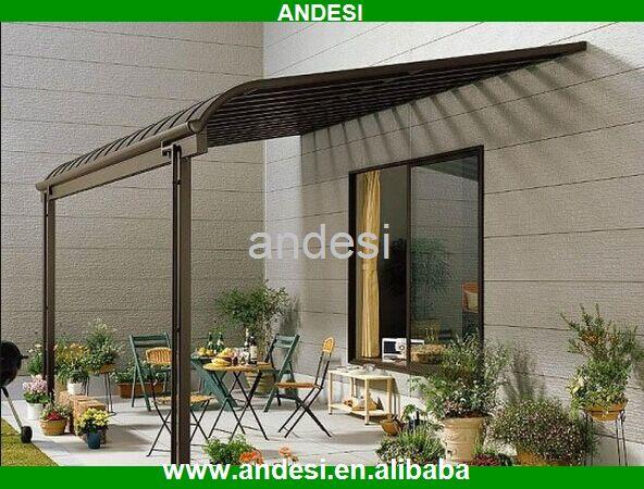 Bricolaje puerta toldo para terraza cubierta para la lluvia toldos pergolas pinterest - Toldos de jardin ...