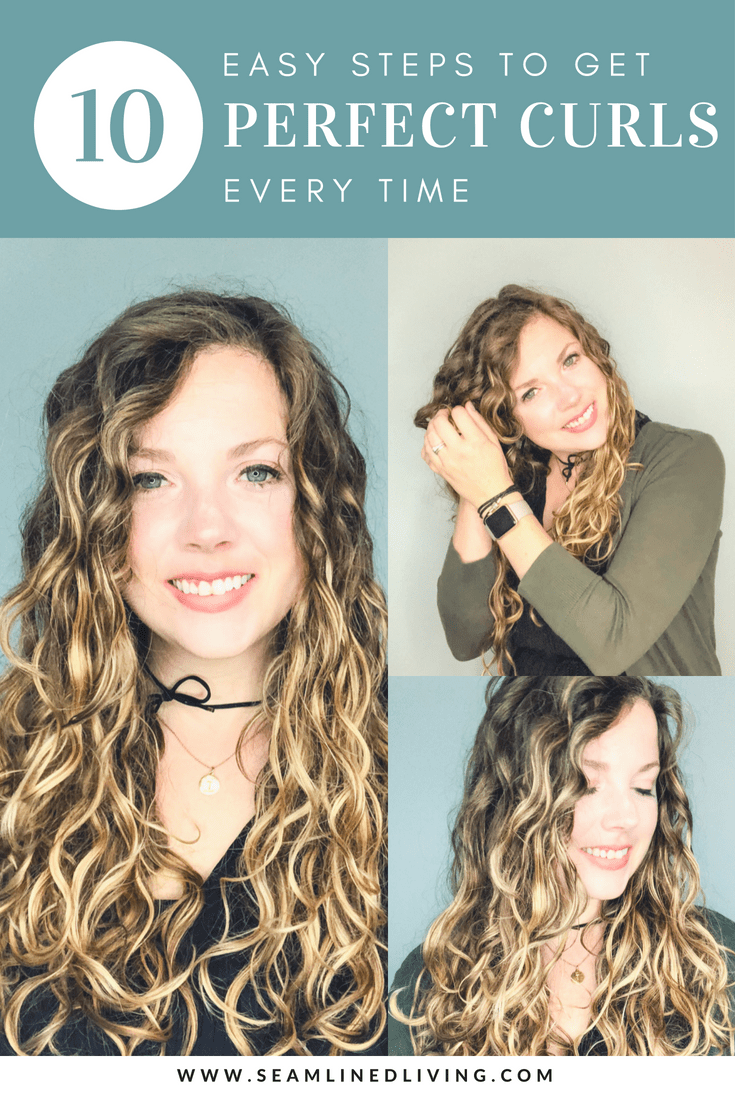 How Do I Style My Hair Using The Curly Girl Method Seamlined Living In 2020 Curly Girl Method Curly Hair Styles Naturally Curly Hair Photos