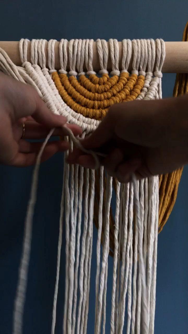 Pin by Michelle Richter on crochet | Macrame, Macrame
