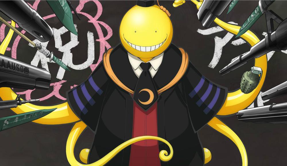 Risultati immagini per assassination classroom anime