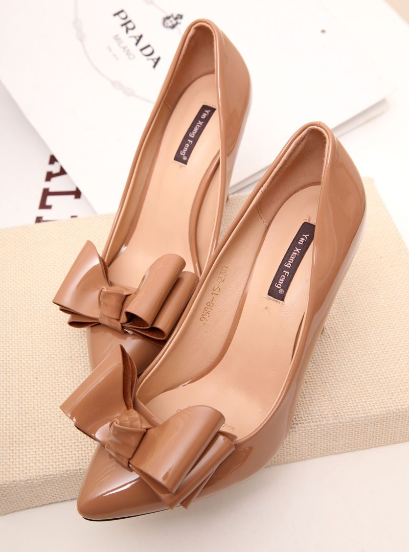 shoes- http://zzkko.com/n211040-orkplace-Petty-elegant-nude-seduction-sweet-bow-shallow-mouth-pointed-stiletto-heels-shoes-shoes-shoes-Zhuang.html $24.13
