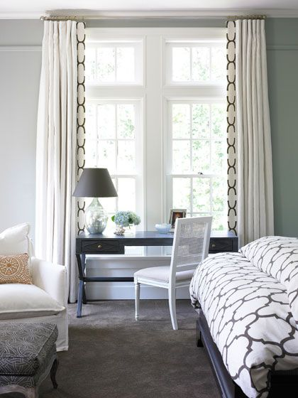 Windsor Smith For Kravet Riad Print On Bedspread And