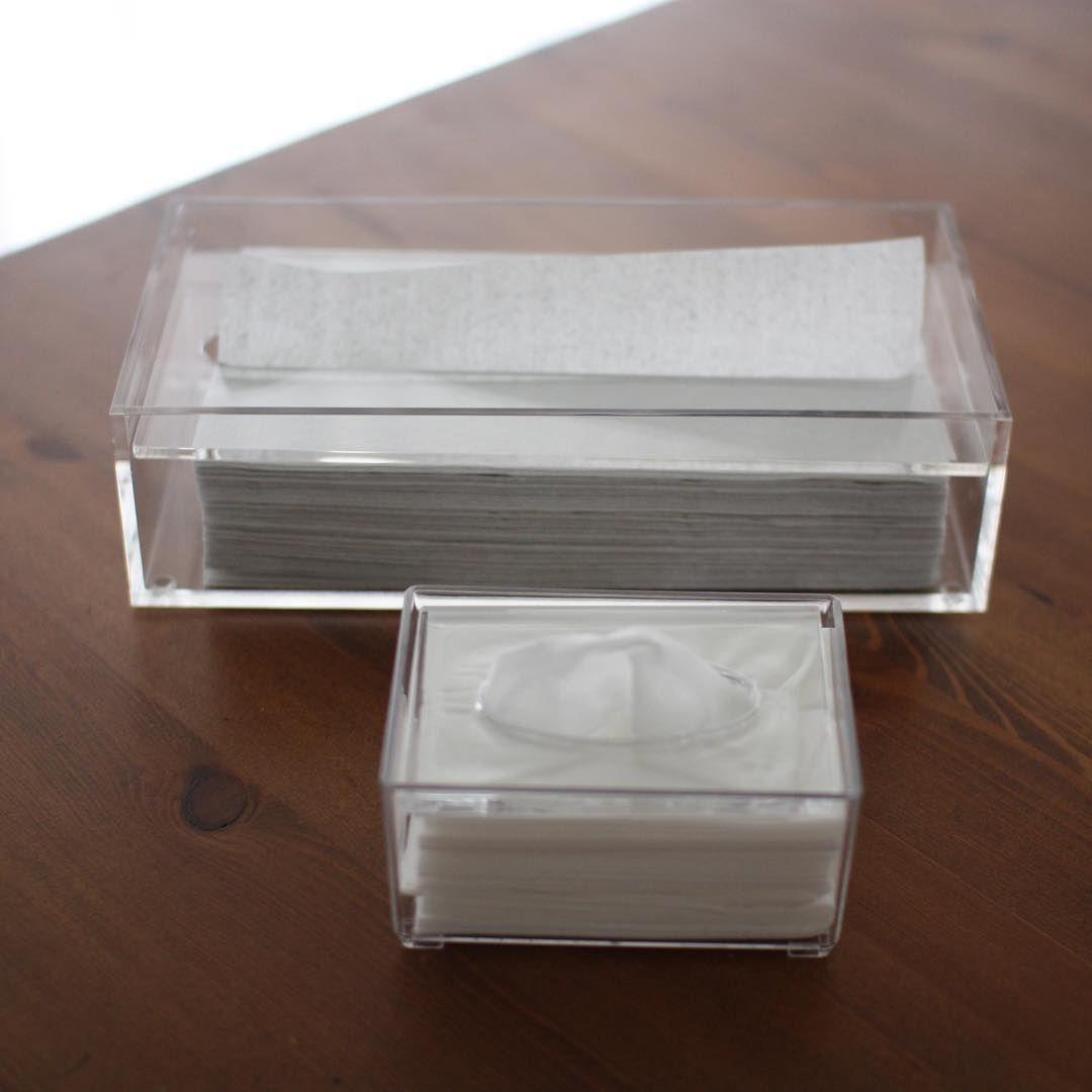 生活感ゼロ おしゃれルームに見せる ティッシュケース 16選 ティッシュケース 無印 アクリル 収納 アイデア