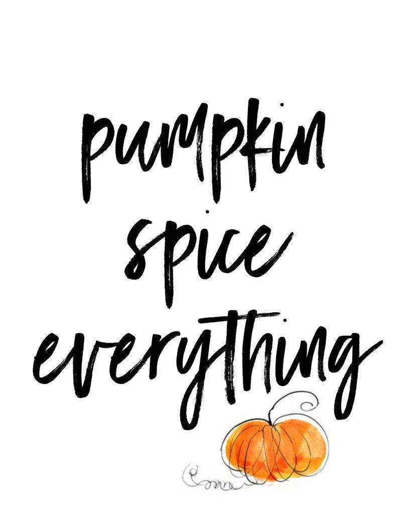 Design Love Fest Fall Wallpaper Pumpkin Spice Everything Printable Downloads In 3 Styles