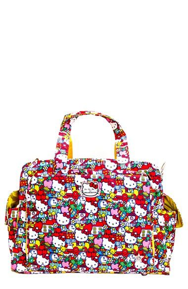 Ju-Ju-Be for Hello Kitty®  Be Prepared  Diaper Tote available at  Nordstrom f892813497c0c