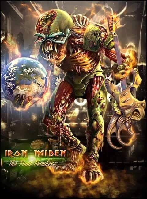 Iron Maiden Maxi Poster 61cm x 91.5cm new and sealed Final Frontier