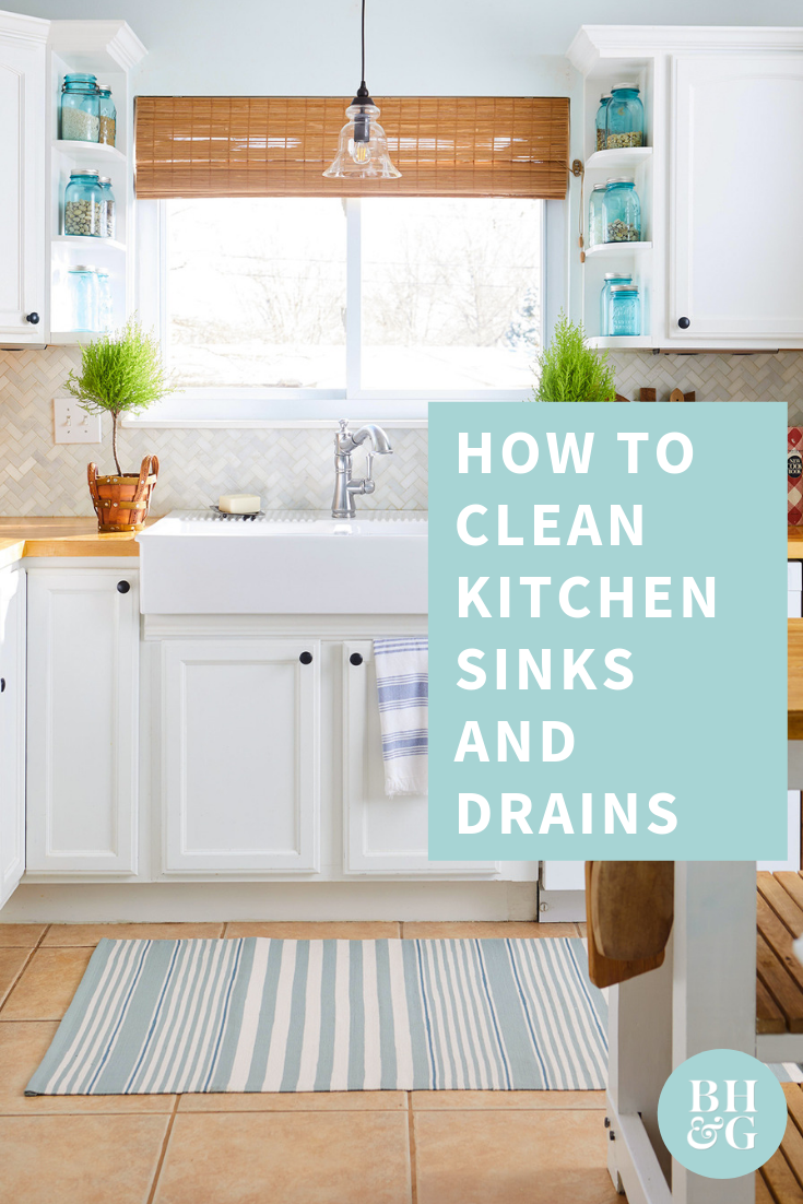 The Best Way To Clean Kitchen Sinks And Drains