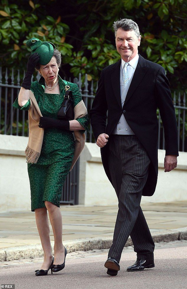Princess Anne's husband says Philip should have stayed in