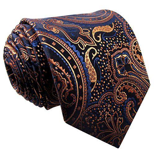 http://www.yourneckties.com/shlax-wing-extra-long-size-ties-floral-blue-orange-brown-mens-necktie-silk/