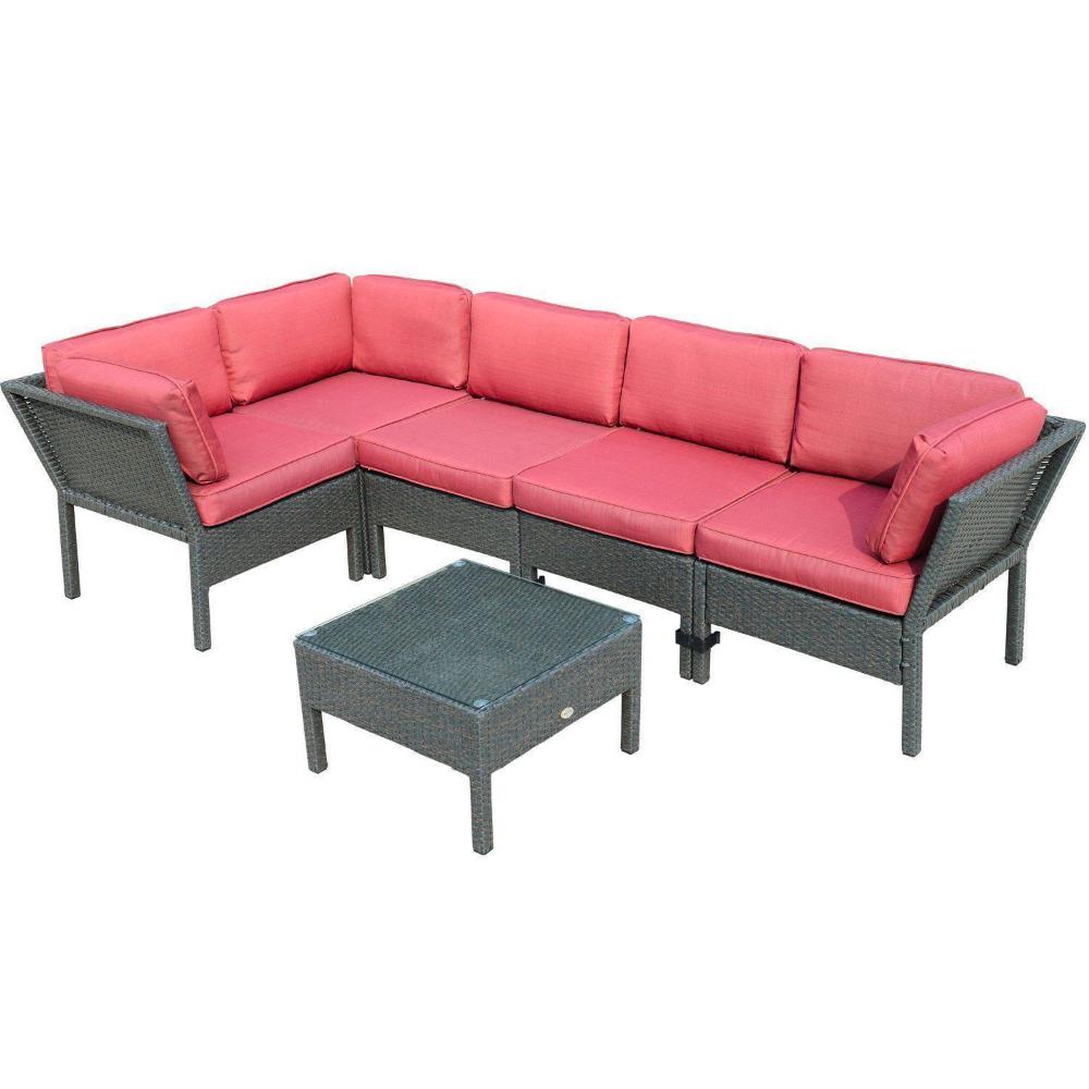 Outsunny 6pc Rattan Sofa Set Walmart Canada in 2020