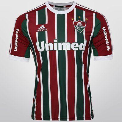 865c7d8460 Camisa Adidas Fluminense I 13 14 s nº - Vinho+Branco