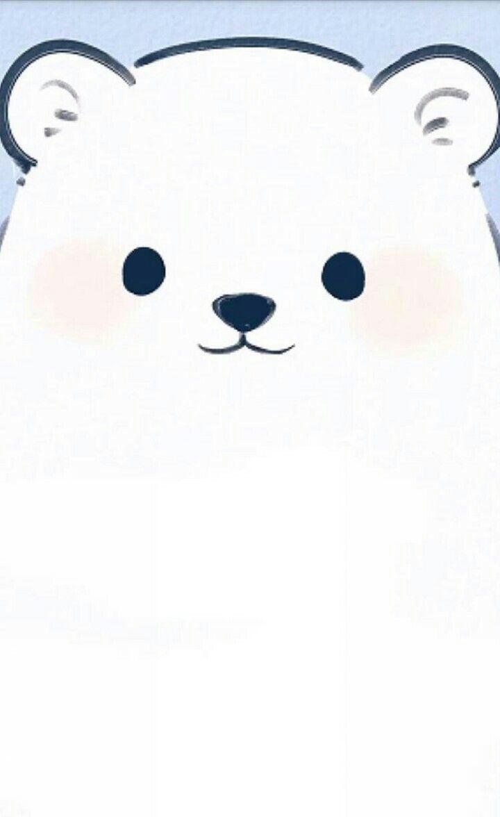 Polar bear phone wallpaper