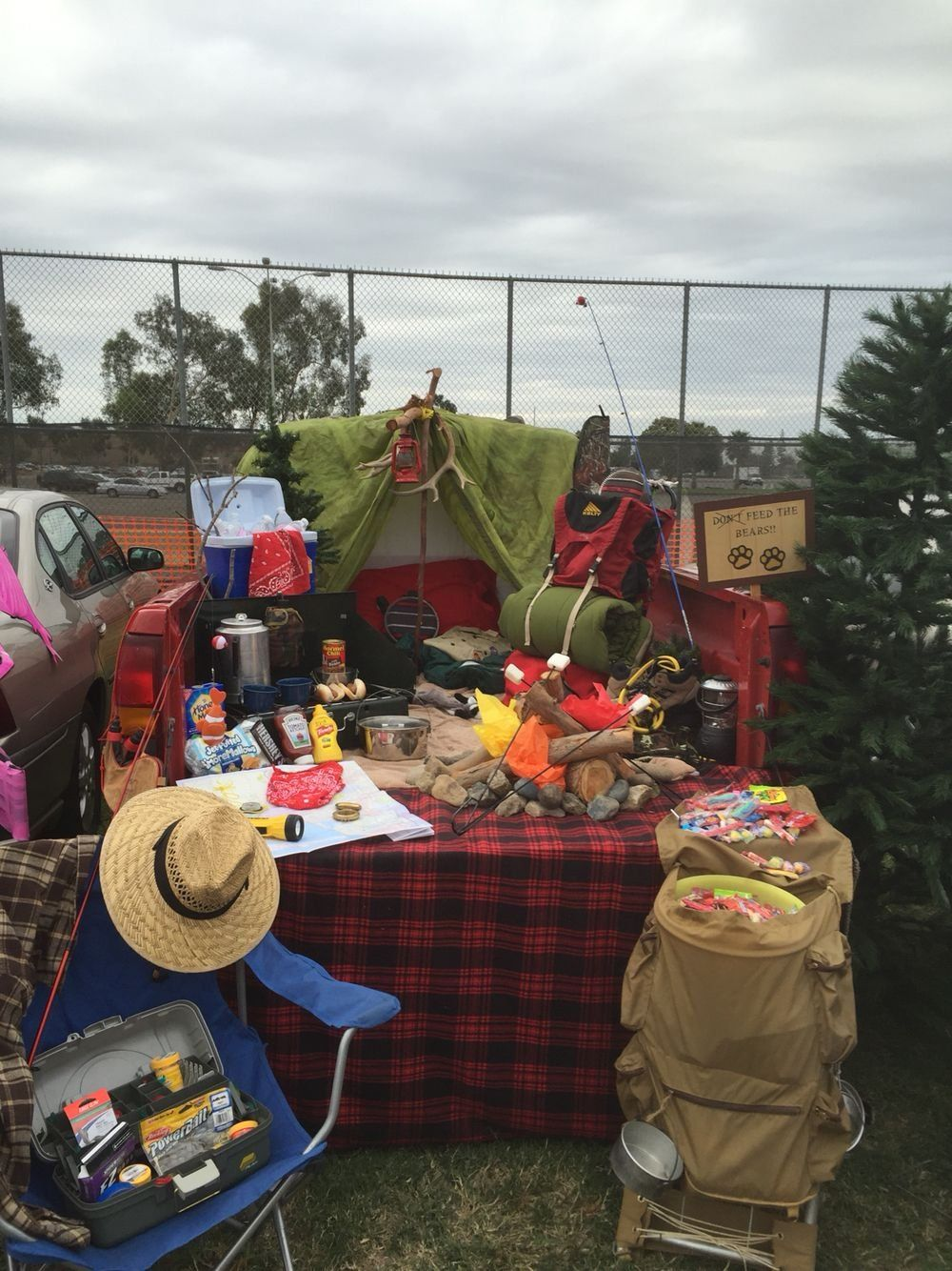 Camping trunk or treat 1000 in 2020 Trunk or treat