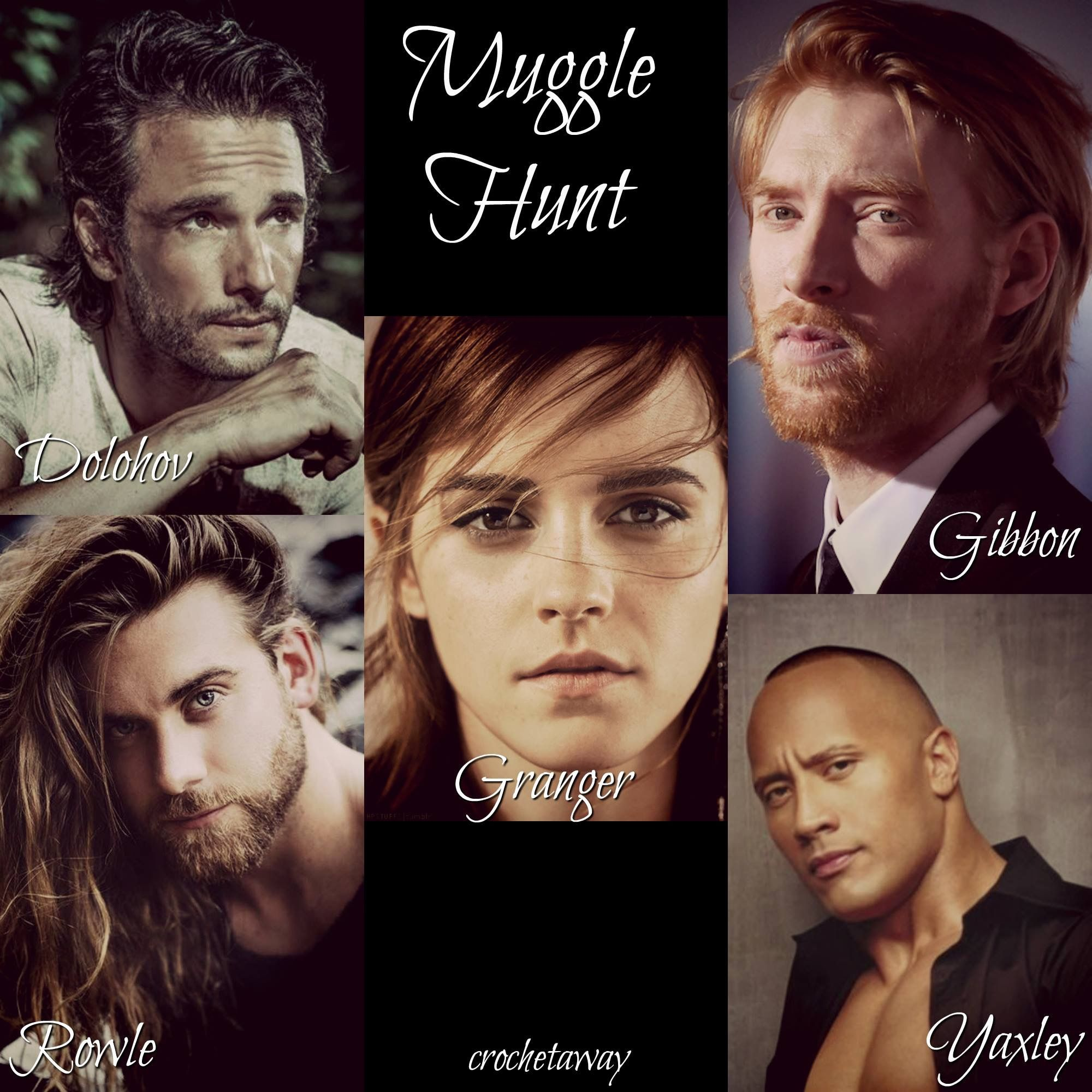 Muggle Hunt Crochetaway Harry Potter Harry Potter Marauders Chapter
