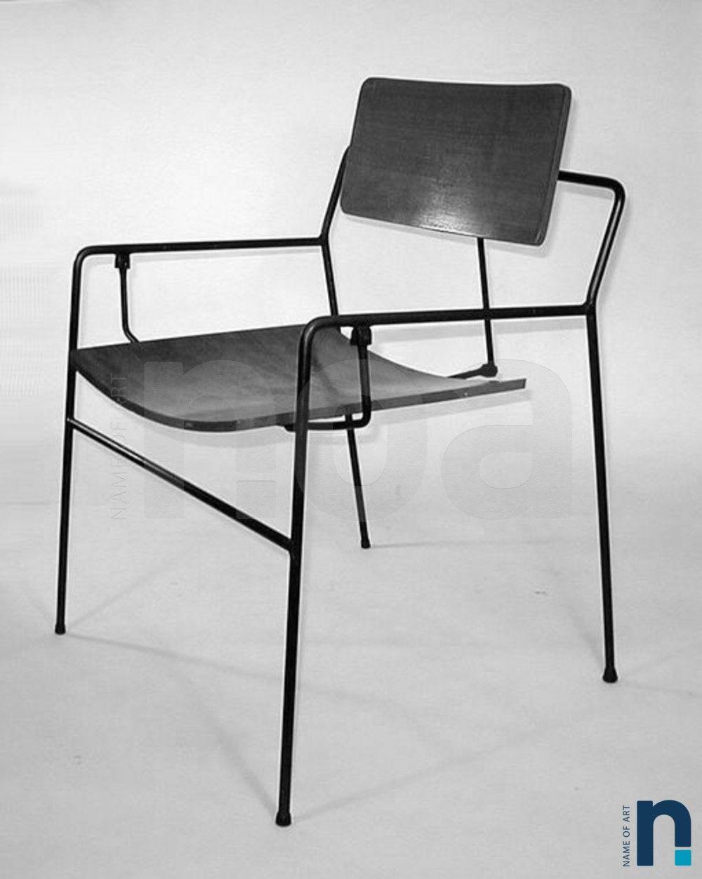 fauteuil bridge design de Arthur Umanoff éditions Elton de 1950