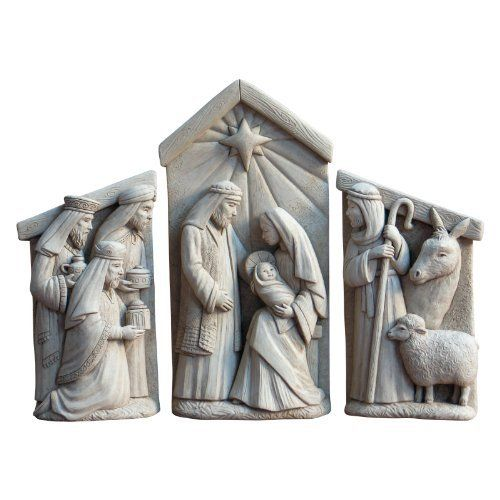 Nativity Set Garden Statue by Carruth Studio Inc. $72.99. About Carruth StudioWe've chosen to carry Carruth Studio designs based on their integrity and authentic dedication to aesthetics. Since 1983, sculptor George Carruth has been creating whimsical images out of limestone, concrete and clay, all with one thing in common: the ability to make people smile. With a nod toward the world of nature, Carruth's signature works include a menagerie of bunnies, cats, frogs and o...