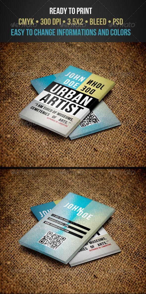 Artist business cards graphicriver original business card artist business cards graphicriver original business card reheart Gallery