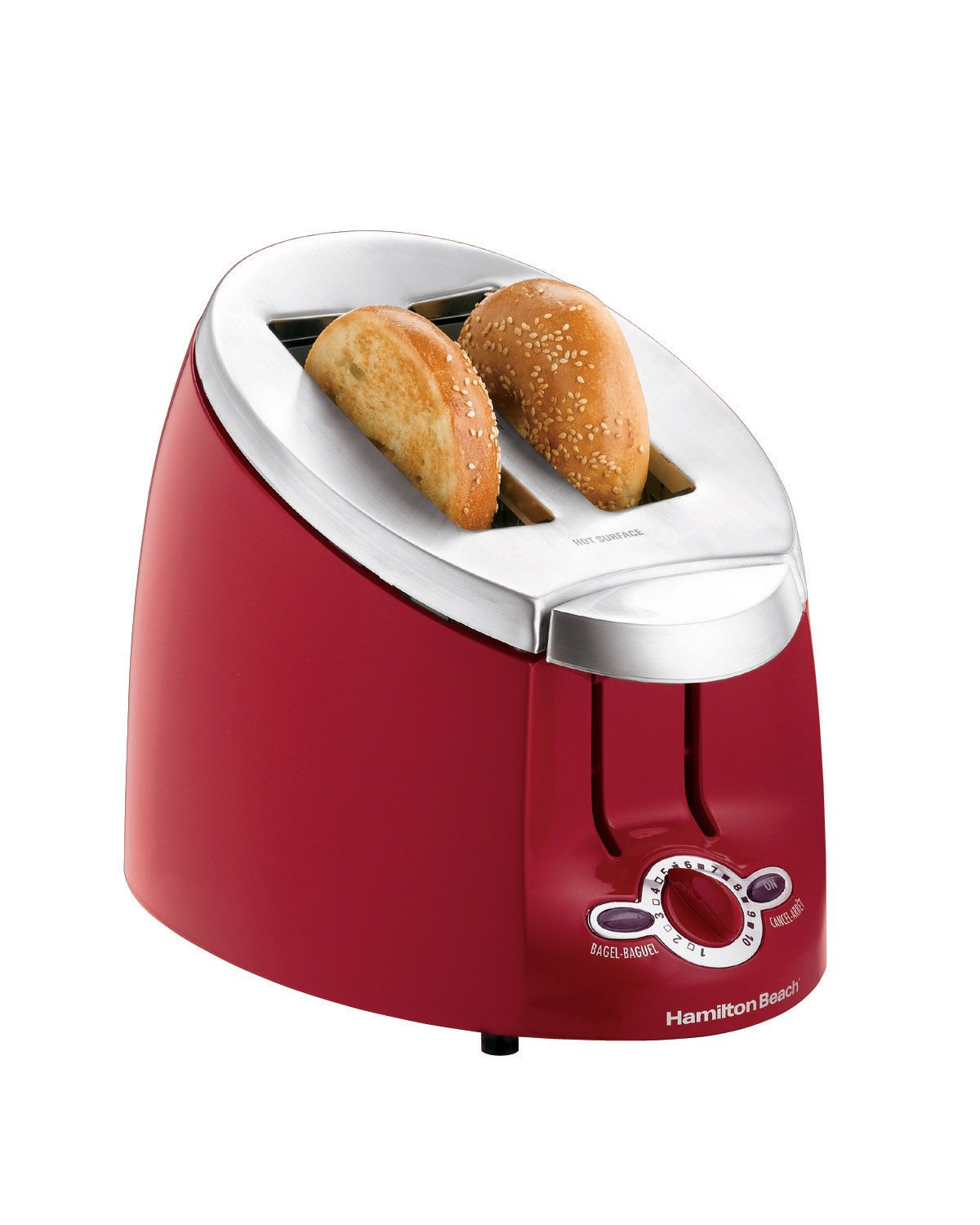 Ensemble 2 Slice Bagel Toaster Extra Wide Slots Cool Touch Sides
