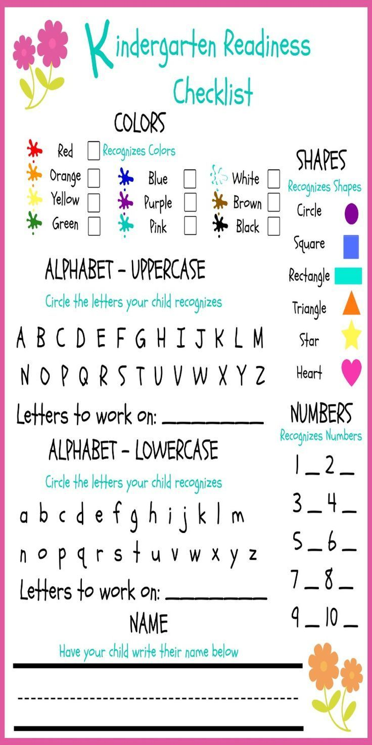 Preschool Kindergarten Phonics Curriculum Kindergarten