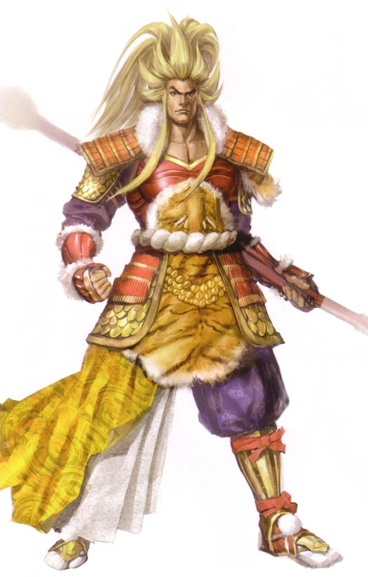 Maeda Keiji Sengoku musou, Samurai warrior, Warrior