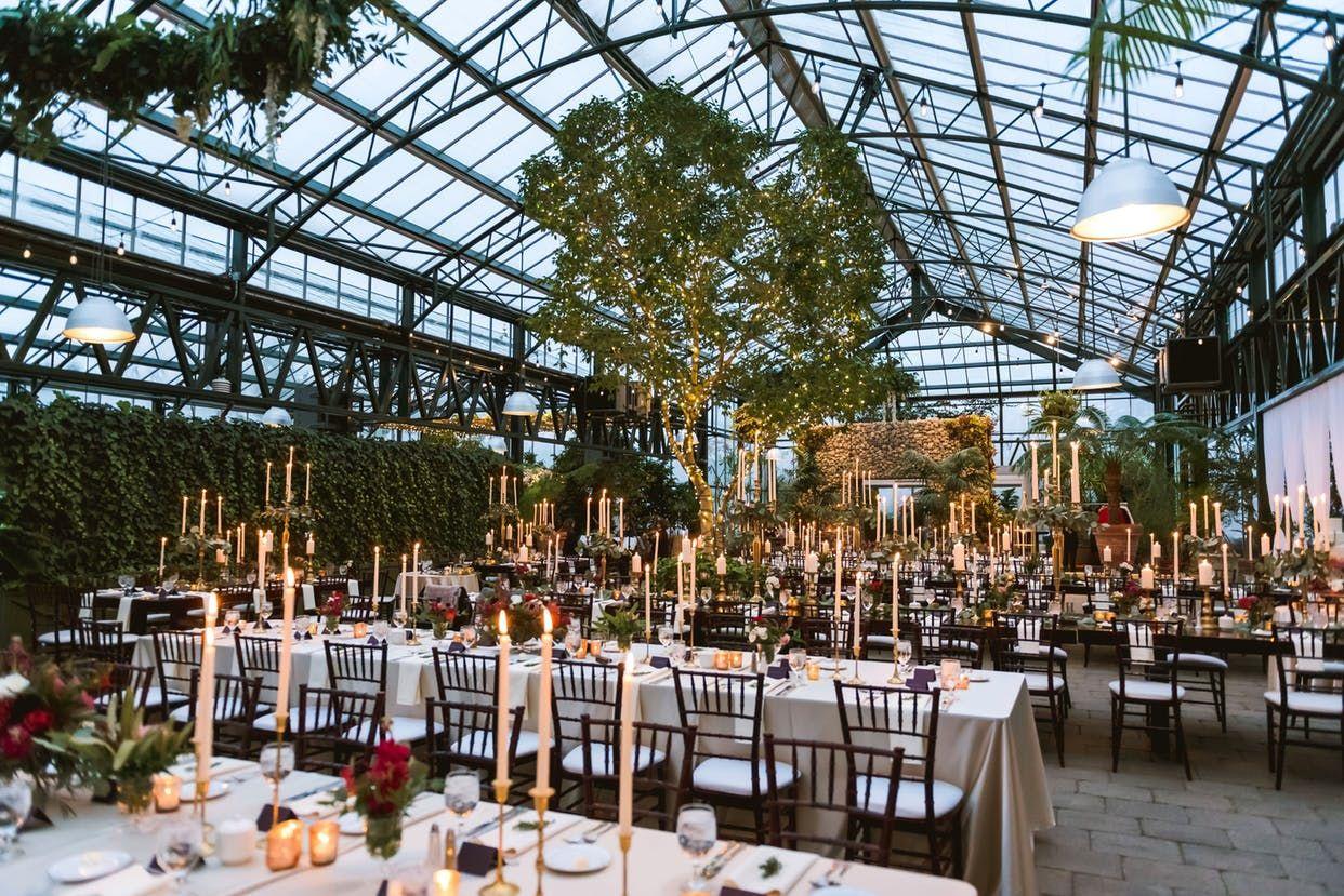 A Glam Greenhouse Soiree   Wedding event decor, Nyc ...