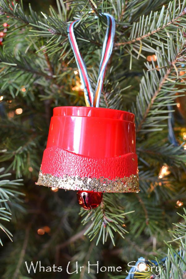 Christmas Bell Ornament Holiday Crafts Christmas Bells Handmade Christmas Ornaments