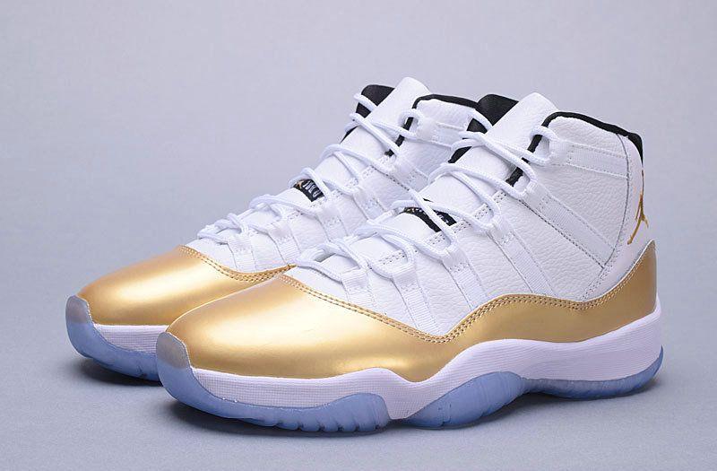 8995b6e132ec Free Shipping Only 69  Authentic Air Jordan 11 XI Olympics Metallic Gold  Coin
