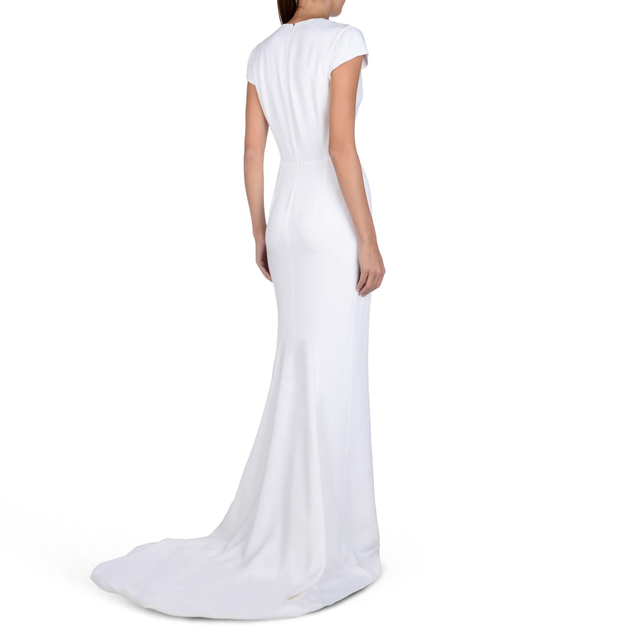 Other Stella Mccartney White Avril Dress Wedding Dress New Size 4 600 Dresses Wedding Dresses Modern Dress [ 2048 x 2048 Pixel ]