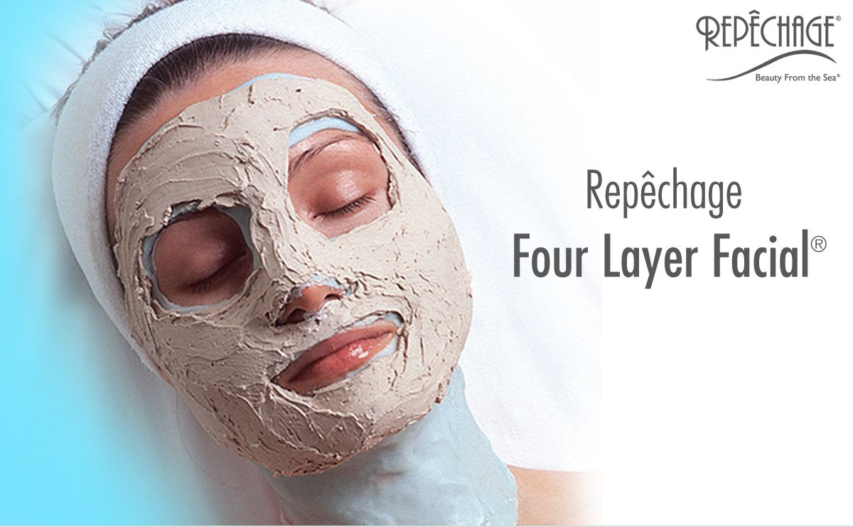 Anti Aging Spa Treatments Repechage Four Layer Facial Skincare