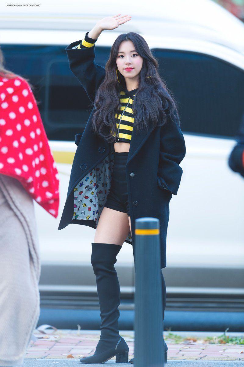 Twice Chaeyoung Kpop Fashion Kpop Outfits Korean Fashion