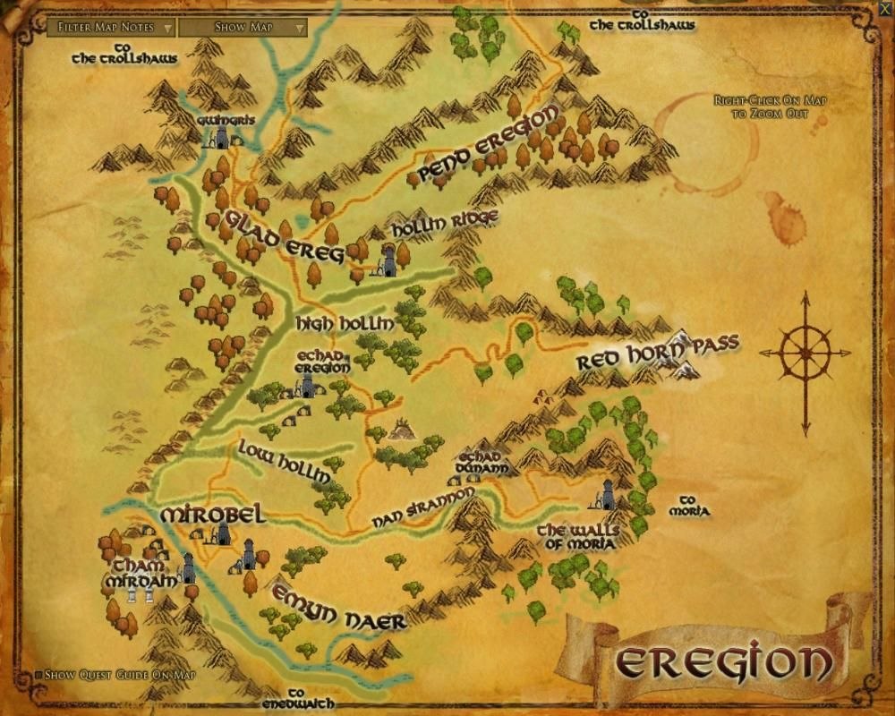 Eregion Lord Tolkien and LOTR